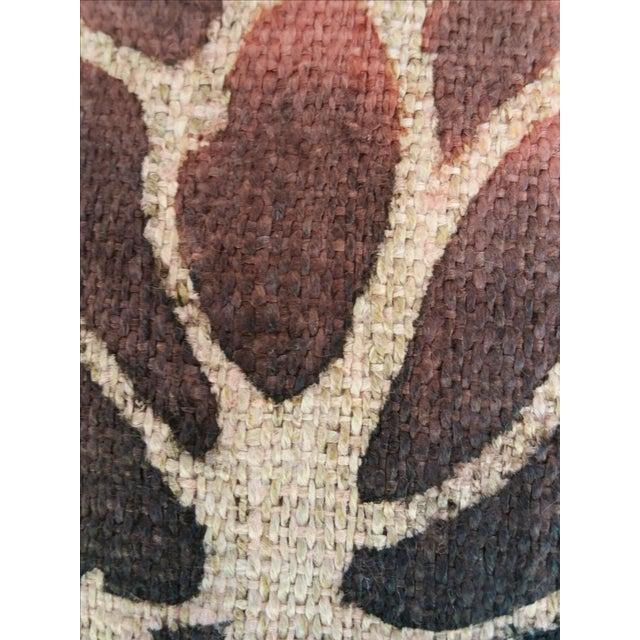Homespun Hand Painted Batik Fabric For Sale - Image 5 of 5