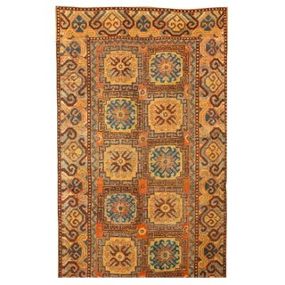 Antique 19th Century Chinese Khotan Rug For Sale
