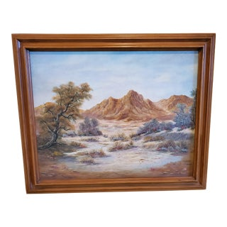 Mid 20th Century The Desert by Hope Painting For Sale