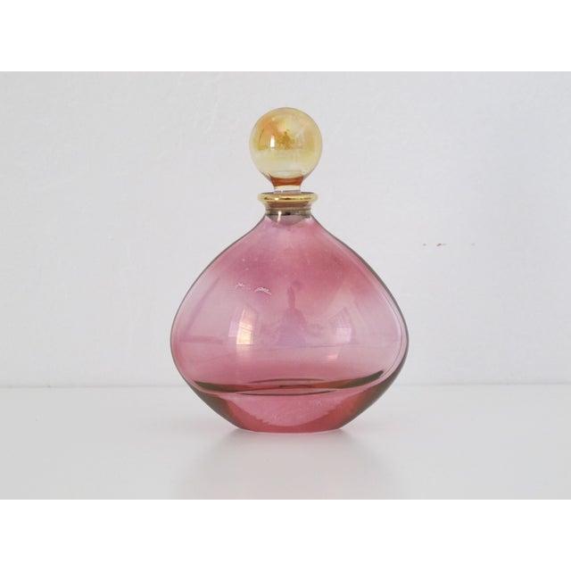 Iridescent Pink Perfume Bottle - Image 3 of 8