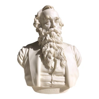 Copeland Parian Bust of Sir Titus Salt
