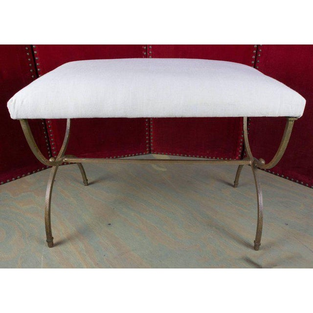 Spanish Gilt Iron Bench - Image 8 of 10