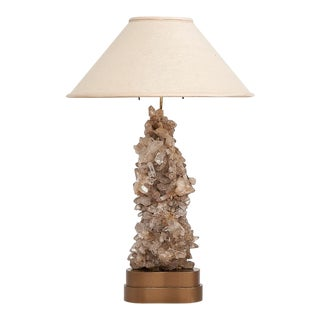 Carole Stupell Quartz Table Lamp, 1950 For Sale