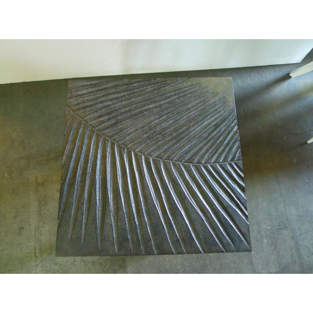 Hand Carved Fossil Table For Sale In Los Angeles - Image 6 of 8