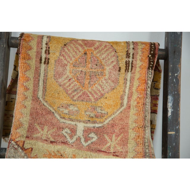 "Vintage Oushak Distressed Rug - 1'6"" x 2'10"" - Image 3 of 6"