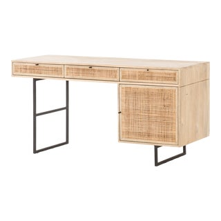 Erdos and Ko Home Natural Carnival Writing Desk For Sale