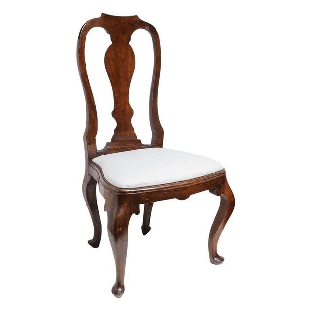 Set of Four 19th Century Queen Anne Revival Side Chairs with Slip Seats - Image 8 of 9