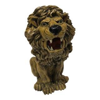 Life Size Ceramic Lion Statue For Sale