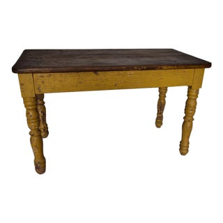 French Original Paint Coffee Table For Sale
