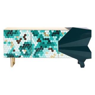 Honeycomb Emerald Sideboard, Royal Stranger For Sale