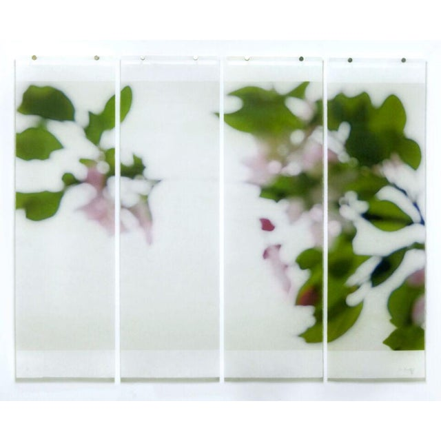 Archival pigment ink on kozo paper infused with encaustic medium