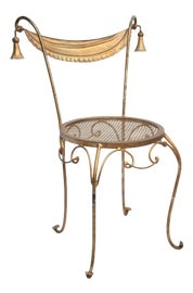 Image of Gold Outdoor Chairs