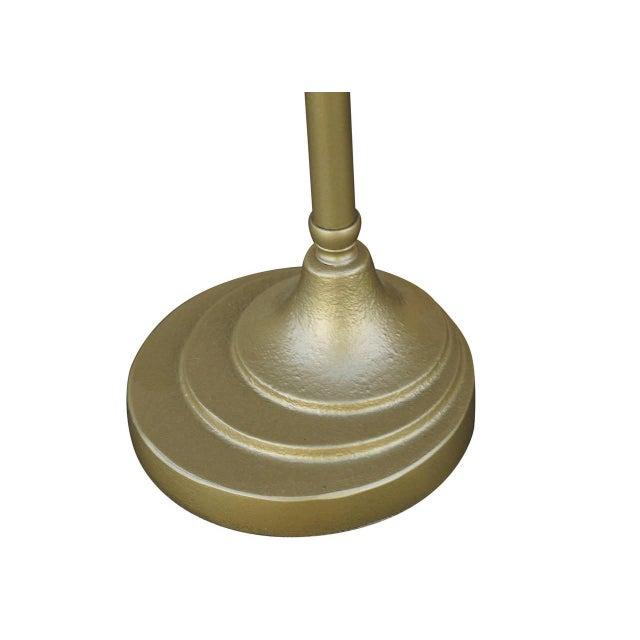 Enamel and Chromium Streamline Bankers Desk Lamp - Image 6 of 6