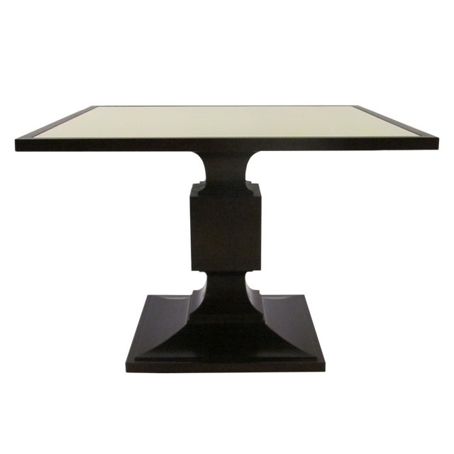 Neoclassical Block Dining Table by Thomas Pheasant for Baker For Sale - Image 3 of 3