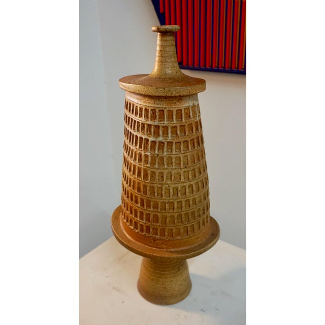Abstract Abstract Ceramic Vessel by Tim Keenum For Sale - Image 3 of 13