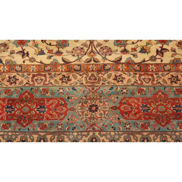 "Persian Tabriz Palace Rug - 10'8"" x 14'7"" - Image 3 of 4"