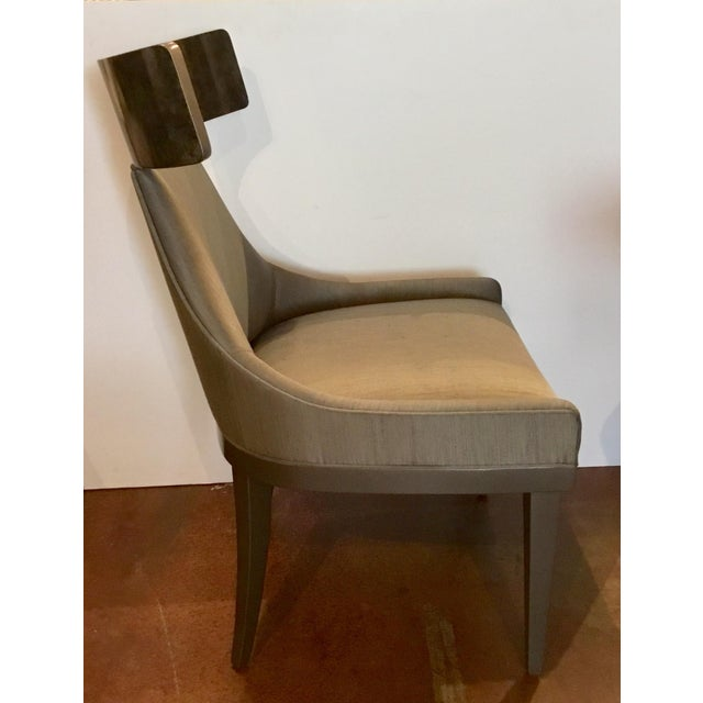 Caracole Modern Sitting in Style Dining Chairs Set of Four For Sale In Atlanta - Image 6 of 8