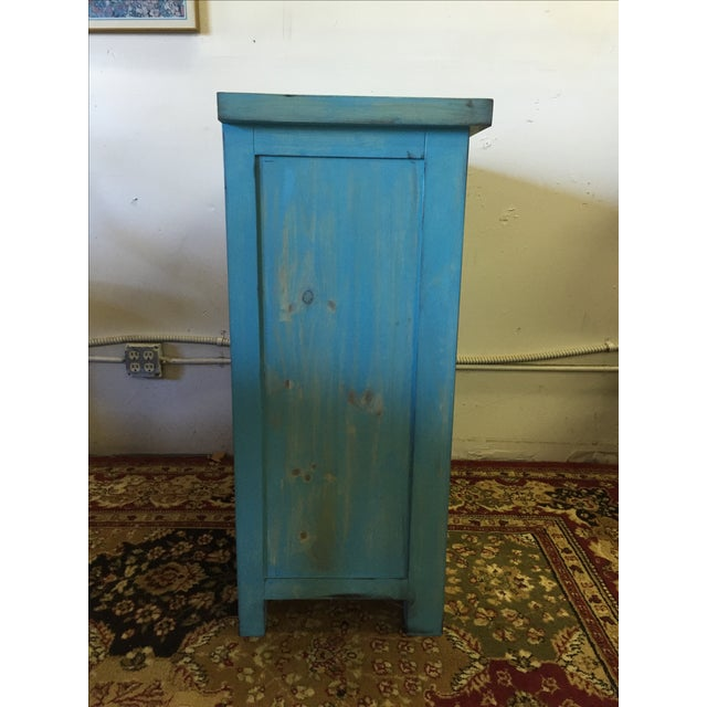 Blue Shabby Chic Chest - Image 5 of 6