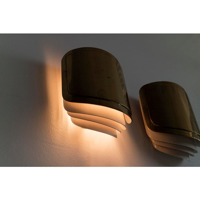 Warren Platner Sconces- a Pair For Sale In Chicago - Image 6 of 7