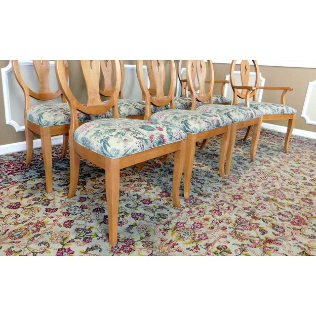 Ethan Allen Country Colors Wheat Dining Set - Image 8 of 11