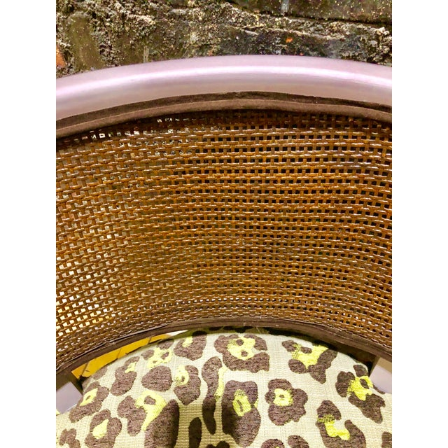 """Wood """"Purple Pearl"""" Chair For Sale - Image 7 of 8"""