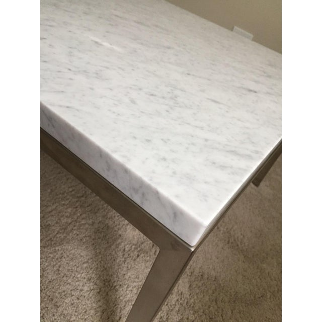 Room & Board Portica Custom Marble Coffee Table - Image 3 of 10