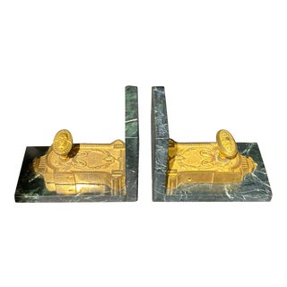 Antique Cremona Bolt Bookends - a Pair For Sale