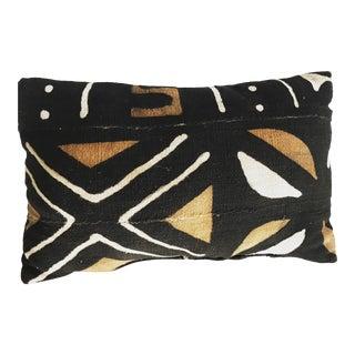 "1990s African Bogolanfini ""Mud Cloth"" Textile Pillow For Sale"
