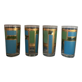 Pasinski Mid-Century Modern Highballs - Set of 4 For Sale