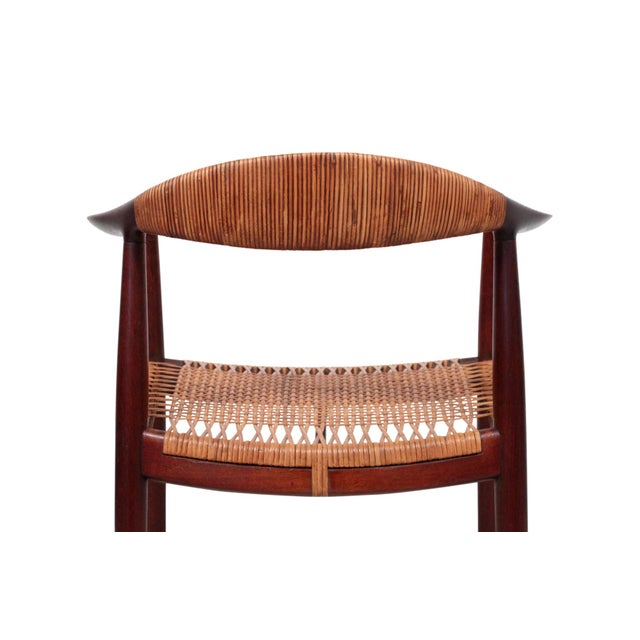 Brown Hans Wegner Classic Cane Chair For Sale - Image 8 of 13