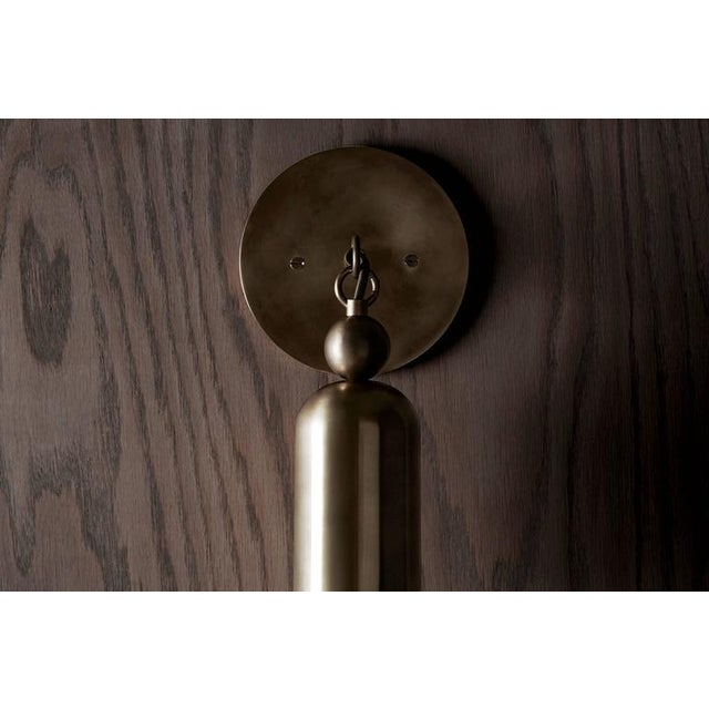 Contemporary Tassel 1 Sconce by APPARATUS For Sale - Image 3 of 4