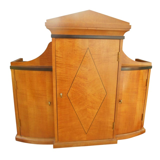Thomasville Art Deco Style Dresser Top - Image 1 of 8