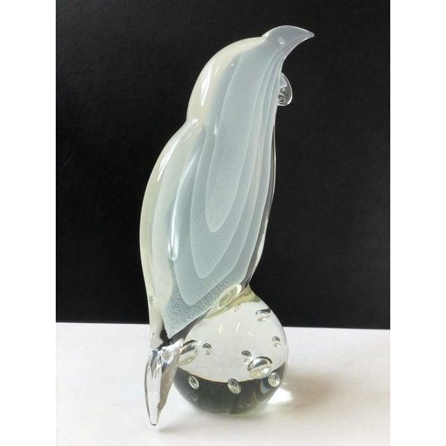 Licio Zanetti Italian Murano Glass Bird by Licio Zanetti For Sale - Image 4 of 12
