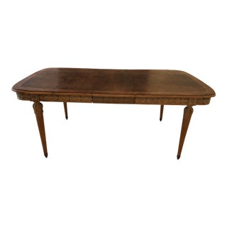 Ornately Carved Dining Table For Sale