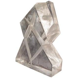 Unusual Lucite Sculpture, 1970s For Sale