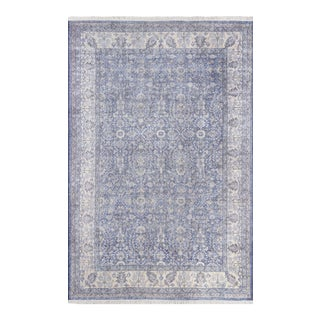 Momeni Helena Ananya Blue 5' X 8' Area Rug For Sale