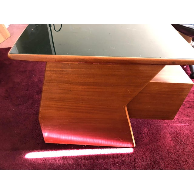 Italian Mid Century Italian Made Desk Inspired by Paolo Buffa For Sale - Image 3 of 12