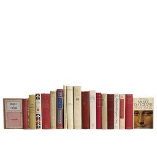 French Culture Book Set, S/20 For Sale