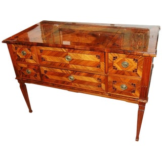 19th Century Parquetry Commode