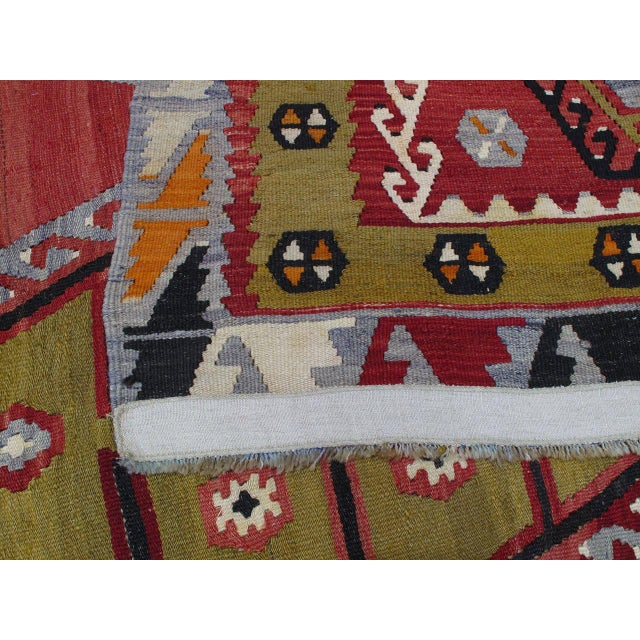 Textile Sharkisla Kilim For Sale - Image 7 of 8