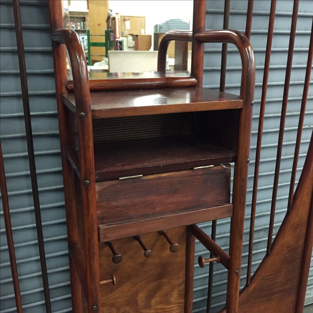 Thonet Thonet Bentwood Halltree For Sale - Image 4 of 5