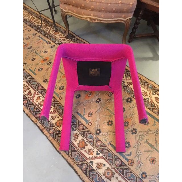 2000 - 2009 Modern Studio Bartoli Design Magenta Kristalia Joko Chair For Sale - Image 5 of 9