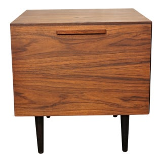 Ib Kofod Larsen Rosewood Dry Bar - Danish Modern For Sale