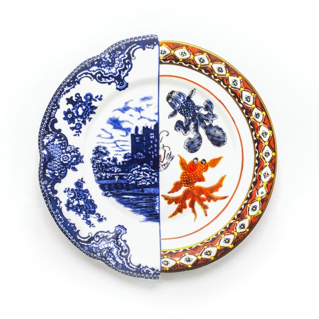 Contemporary Seletti, Isaura Hybrid Dinner Plate, Set of Six, Ctrlzak, 2011/2016 For Sale - Image 3 of 3