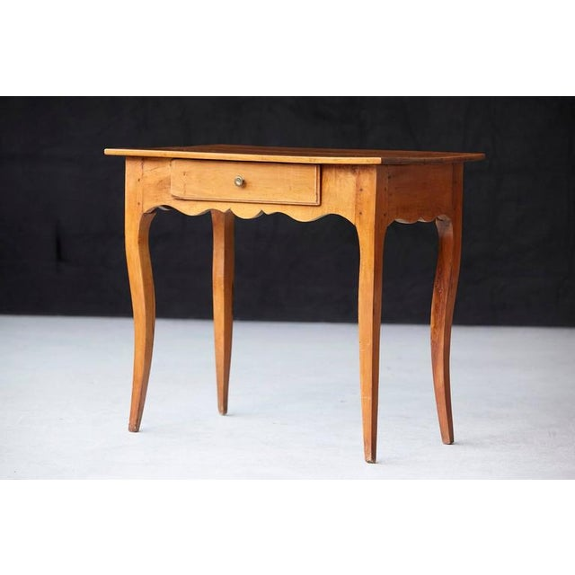 French Provincial 19th Century French Provincial Fruitwood Occasional Table For Sale - Image 3 of 10