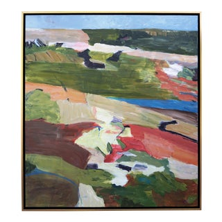 "Laurie MacMillan ""Getaway"" Abstract Landscape Painting For Sale"