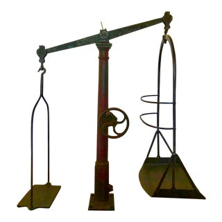 Early 20th C. French Jockey's Scale For Sale