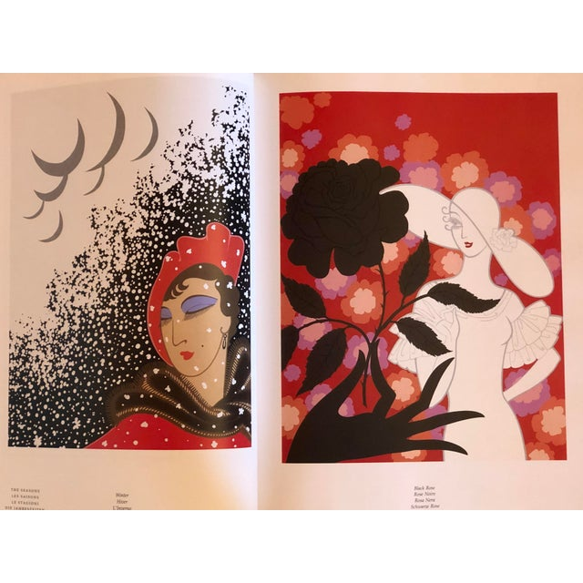 """Erté """"Erte at Ninety the Complete Graphics"""" Book For Sale - Image 4 of 7"""