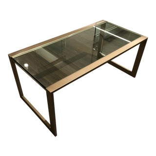 Contemporary Swaim Cocktail Table For Sale