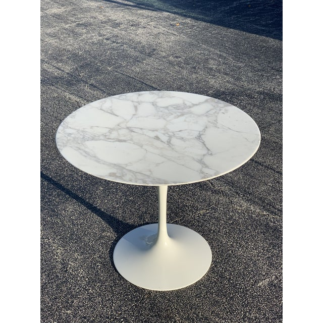 Mid-Century Modern Eero Saarinen Marble Oval Dining Table for Knoll For Sale - Image 13 of 13
